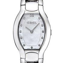 Ebel Beluga Tonneau Mini Steel Womens Watch Mother of Pearl...