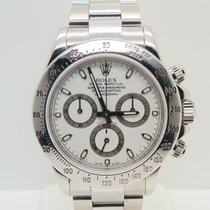Rolex Daytona Steel White Dial (No Papers)