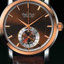 Paul Picot FIRSHIRE  RONDE  DAY& DATE  skin strap brown...