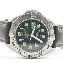Breitling Colt A57035 Herren Uhr Quartz Stahl/stahl Top...