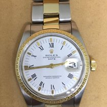 Rolex Oyster Perpetual Date Gold Steel Vintage 1978 Ref.1505