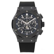 Hublot Classic Fusion Aero Chronograph Black Magic 45 mm