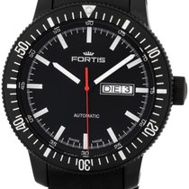 Fortis B-42 Cosmonautis Monolith Automatic Mens Strap Watch...