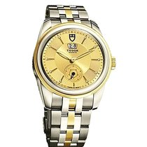 Tudor 57003-68073 Glamour Double in 2-Tone - On Steel and...