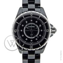Chanel J12 Quartz 33 mm Index diamants New-Full Set