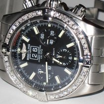 Breitling Chronomat Blackbird Automatic Chronograph Diamonds