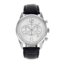 Μπελ & Ρος (Bell & Ross) Officer BRG126-WH-ST/SCR (12835)