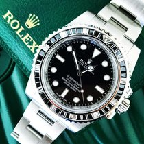 Rolex Submariner 114060 Custom diamond bezel