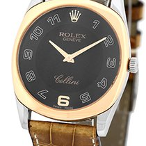 """Rolex """"Cellini Danaos"""" Strapwatch."""