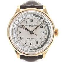 Baume & Mercier Capeland GMT Worldtimer M0A10107 like new...