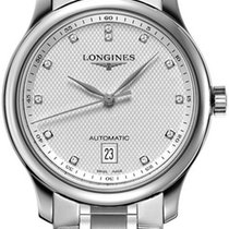 Longines Master Automatic 38.5mm L2.628.4.77.6 Complete NEW...