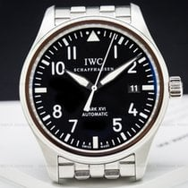 IWC IW325504 Mark XVI Black Dial SS / SS (26040)