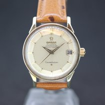 Omega Constellation Stahl/Gold Automatic Original Piepan Dial...