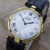 カルティエ (Cartier) Must de Cartier 21 925 Silver Quartz 2000...