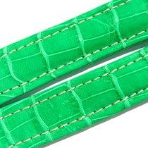 Breitling Band 20mm Croco Green Verde Grün Strap Ib014