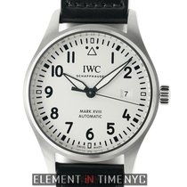 IWC Pilot Collection Mark XVIII Steel 40mm Silver Dial
