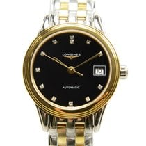 Longines Flagship Pvd Gold Black Automatic L4.274.3.57.7