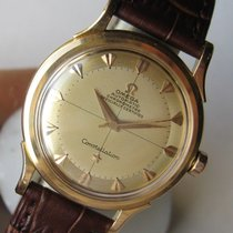 Omega Constellation 2652 SC 18k Rose Gold Cal 354 Vintage