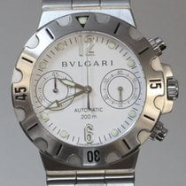 Bulgari Scuba Automatic Chronograph Stainless Steel 38mm...