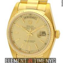 Ρολεξ (Rolex) Day-Date President 18k Yellow Gold Single Quick...