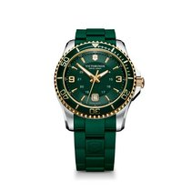 Victorinox Swiss Army Maverick large green, gold details,...