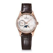 Zenith Elite Lady Ultra Thin perlmutt 11Brillanten