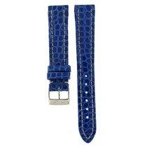 Breitling Blue Crocodile Leather Strap 16mm/14mm