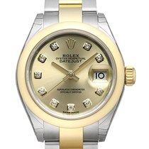 ロレックス (Rolex) Datejust 28 Ref. 279163 Champagner Diamant