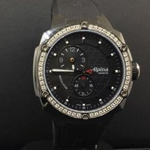 Alpina Avalanche Extreme Black Ceramic 42mm Diamond Bezel...