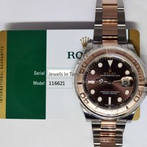 Rolex NEW Rolex Yacht-Master 18k Rose Gold & Steel Watch...
