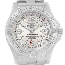 Breitling Aeromarine Superocean Steelfish Silver Dial Watch...