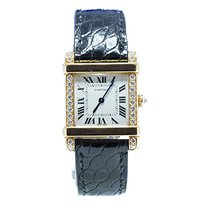 Cartier_CHINOISE_DIA_BEZEL Tank Chinoise in Yellow Gold with...