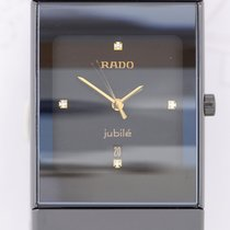 Rado Diastar High-Tech-Keramik black Diamond Dial Quarz Klassiker