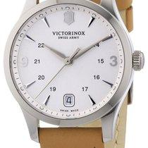 Victorinox Swiss Army Alliance Steel Womens Strap Watch Silver...
