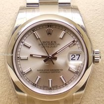 Rolex Datejust, Ref. 178240 - silber Index Zifferblatt/Oysterband
