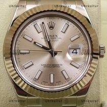 롤렉스 (Rolex) Datejust II, Ref. 116334 - silber Index Zifferblatt