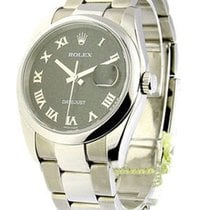 Rolex Used 116200 Mens Steel Datejust with New Style Datejust...