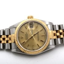 Rolex 31MM Midsize 18K/SS Datejust Champagne Dial -78273