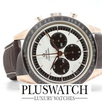 Omega Speedmaster Moonwatch Numbered Edition 18K Sedna Gold...