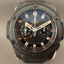 Hublot Big Bang king power Foudroyante black/red 48mm