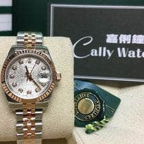 Rolex Cally - 179171 26mm Datejust Lady White Roman Dial [NEW]