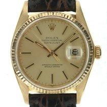 Rolex Datejust oro zaffiro ref. 16018 02/1980 art. Rz248b
