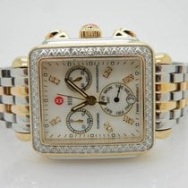 Michele Deco Diamond Day Date Two-Tone Watch