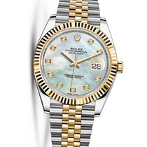 Rolex Unworn 126333GMOPWHMOP Datejust 41mm in Steel and Yellow...