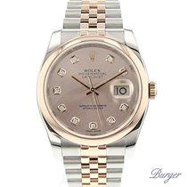Rolex Datejust 36 Everose Gold/Steel Jubilee Diamond