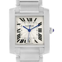 Cartier Tank Francaise Automatic Stainless Steel Unisex Watch...