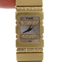 Piaget Ladies 18k Yellow Gold Piaget Mini Polo Mother Of Pearl...