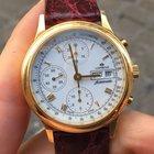 Lorenz Cronografo Automatico Chronograph Oro Gold 18k