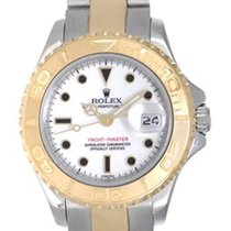 롤렉스 (Rolex) Ladies Rolex Yacht-Master Watch 69623 White With...