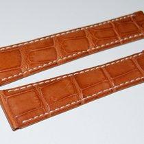 Rolex CROCO Lederband,Braun 20/16 mm